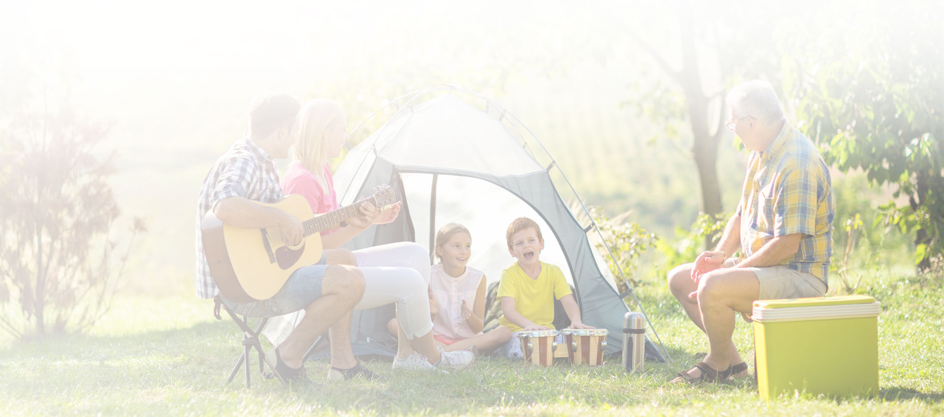 The trend of camping as a holiday accommodation